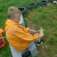 A brilliant year of Forest School